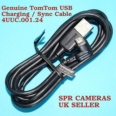 £8.99 • Buy Genuine Tomtom Usb Car Charger Data Cable 4uuc 001.24 Go 500 5000 600 6100 520