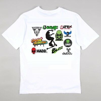 Stunt Scooter MGP Madd - Lucky - District Apex Scooters Skater Tricks Tshirt.  • 7.99£