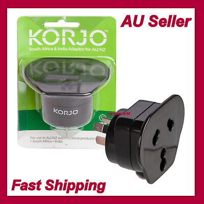 AU23.11 • Buy NEW Travel Adapter Power Adaptor India/South Africa Socket To Plug Australia/NZ