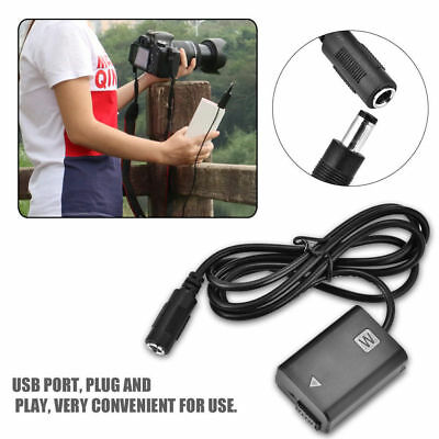 AU26.30 • Buy For SONY A6300 A5000  NP-FW50 Dummy Battery Adapter USB Port Plug DC Power Bank