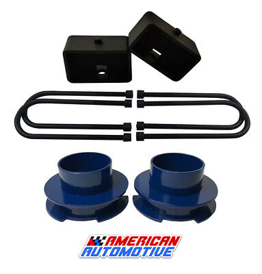 $112.90 • Buy 2002-2008 Ram 1500 Blue Lift Kit 2WD 3  Front + 3  Rear Lift Lifetime Warranty
