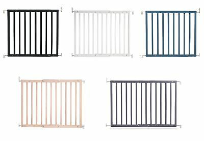 £43.40 • Buy Safetots Deluxe Chunky Wooden Screw Fit Infant Stair Gate Baby Safety Gate