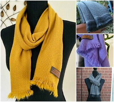 Warm Pure Cashmere Scarf Scarves Handmade Beautifully Soft -Ideal Christmas Gift • 24.99£