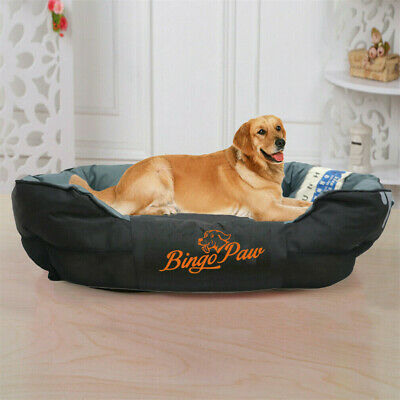 Waterproof Pillow Sofa Dog Bed Pet Bed Cushion Mat Durable & Washable M/L/XL/XXL • 47.48£