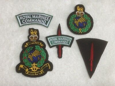 £5 • Buy Royal Marines Commando - Embroidered Patch / Badge - Sew On Breast / Biker Patch