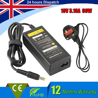 £10.49 • Buy LAPTOP ADAPTER CHARGER FOR SAMSUNG NP-R730 NP-R510 NP-R530 POWER SUPPLY+UK Plug