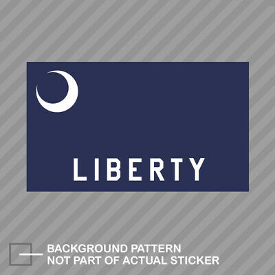 $3.99 • Buy Fort Moultrie Flag Sticker Decal Vinyl Militia Liberty