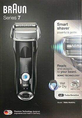 View Details Braun Series 7 7840s Men's Electric Wet & Dry Foil Shaver Trimmer Cordless Razor • 149.99£