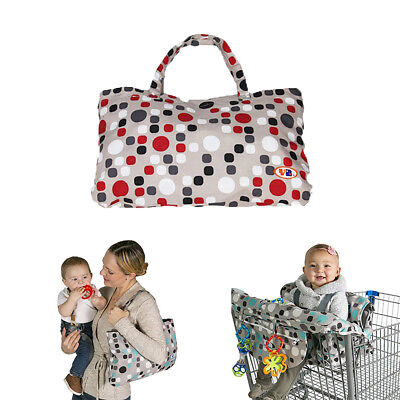 £19.71 • Buy Baby Shopping Trolley Cart Seat Cover Child High Chair Cushion Protector