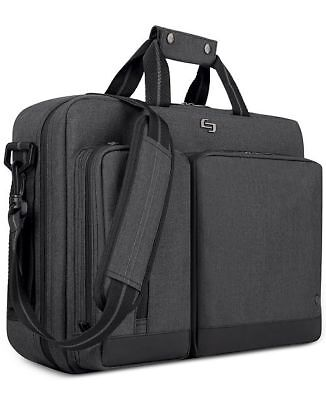 Solo Urban Hybrid Laptop Briefcase/Backpack Gray • 28.57£