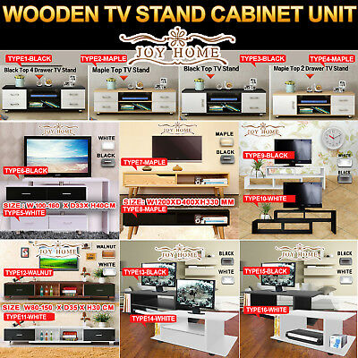 AU79.99 • Buy Wooden TV Stand Entertainment Side Cabinet Unit Storage Drawers Cabinet