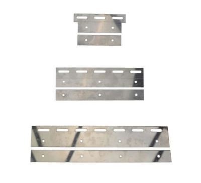 £19.99 • Buy Stainless Steel Plate Set For PVC Curtain Strips PACK Of 10[200mm]