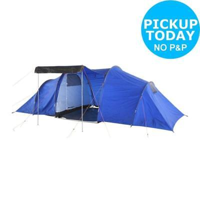 6 Person Tent Man Room Family Outdoor Waterproof Camping Shelter Festival Hiking • 164.39£