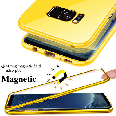 $ CDN11.63 • Buy For Samsung Galaxy S7Edge/S10 S9 Plus Note10 360 Magnetic Case TemperGlass Cover