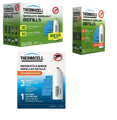 Thermacell Midge & Mosquito Repeller Refills • 7.99£