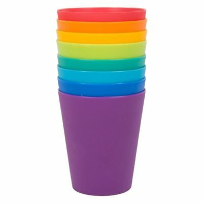 Plastic Drinking Cups Mugs Tumblers Children Kids Party Small BBQ Outdoor Picnic • 7.99£