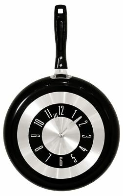 Clock Frying Pan Creative Gifts Kitchen Stylish Wall Hangings Unique Gifts Home • 26.26£