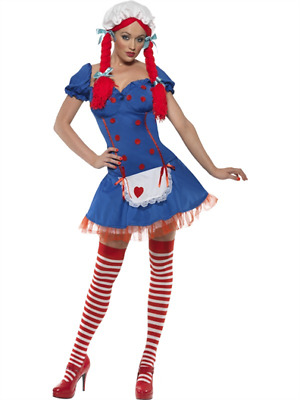£12.99 • Buy Ladies Smiffy's Rag Doll Fever Fancy Dress Costume Party Outfit