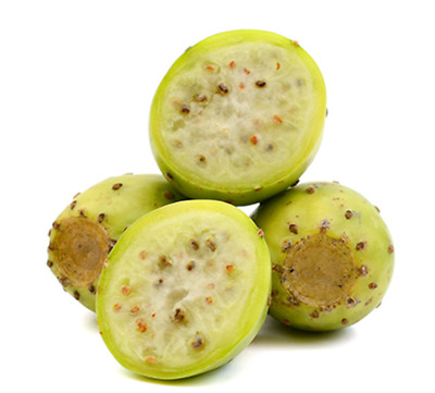 20 Seeds White Fruit Prickly Pear Cactus, Opuntia Ficus Indica Nopal Alfajayucan • 15.47£