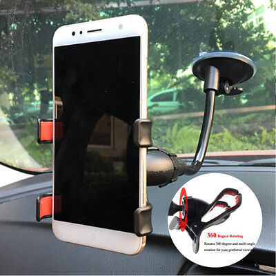 $7.55 • Buy Car AUTO ACCESSORIES 360° Rotating Cell Phone Windshield Mount Holder Universal