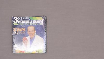 $14.40 • Buy 3 Steps To Incredible Health! (Joal Fuhrman, M.D.)(DVD,6-Disc Set)(6 DVD Library