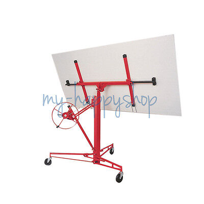 Heavy Duty 11ft Drywall Lift Panel Hoist Lifter Lifting Panel Board With Caster • 199.14£