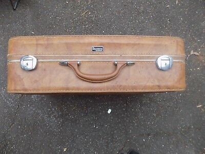 $ CDN60.45 • Buy Vintage THE WALLSTREETER BY EARHART Suitcase Carry On Travel Luggage