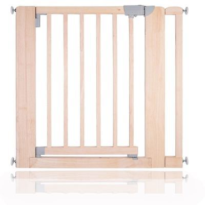 Safetots Chunky Wooden Pressure Fit Stair Gate No Screw Baby Gate 89-97cm • 67.80£