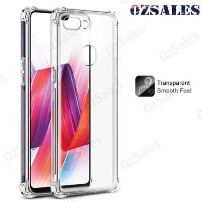 AU5.99 • Buy OPPO R11 R11S R9S R9 R15 PRO A73 A59 F7 F3 Plus Soft Clear Shockproof Case Cover