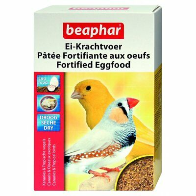 £5.59 • Buy Beaphar Fortified Egg Food Dry, 1KG. For Canaries And Other Tropical Birds.