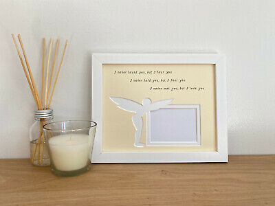 Baby Scan Fairy Photo Frame Memorial Pregnancy Miscarriage Loss  • 16.45£