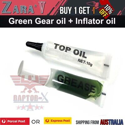 AU10.39 • Buy Gear Grease Set & Inflator Oil Lubricating Gel Blaster JM Gen 8 J9 M4A1 J10 ACR