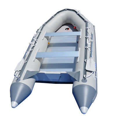 AU1249 • Buy 3.8M Inflatable Boat Fishing Sport Boat Raft Dinghy Yacht Tender Pooton Gray