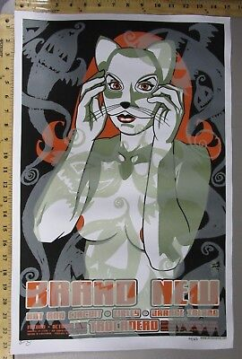 $60 • Buy 03 Rock Concert Poster Brand New Hot Rod Circuit Brian Ewing SN LE 350 Halloween
