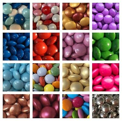 £8.99 • Buy Edible Chocolate Beans Smarties Sweets Choose  Cake CupcakeToppers Rainbow