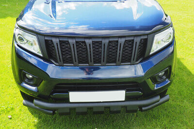 Fits New Nissan Navara NP300 Black Grille Stealth Edition Grille Upgrade • 139£