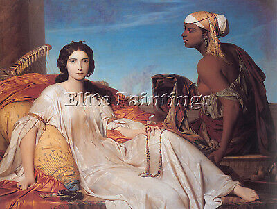 $ CDN337.83 • Buy Benouville Francois Leon Esther Artist Painting Reproduction Handmade Oil Canvas