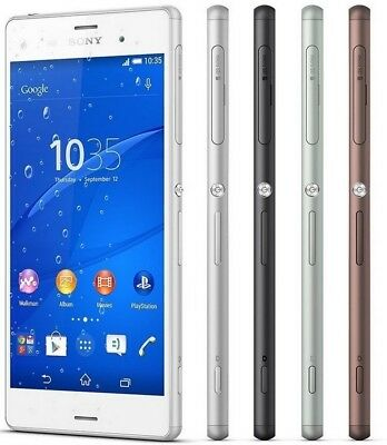 $ CDN125.16 • Buy Sony Xperia Z3 D6603 LTE GSM Unlocked Smartphone Cell Phone AT&T T-Mobile 16GB