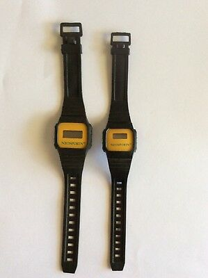 """RARE"" PAIR OF NEOSPORIN PROMO WATCHES-(male+female) • 11.23£"