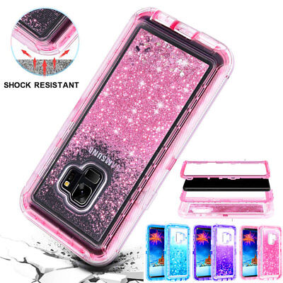 $ CDN6.73 • Buy 360° Bling Sparkle Heavy Duty Armor Case For Samsung Galaxy Note9 S21 Plus Cover