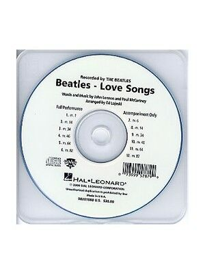 £34.35 • Buy The Beatles Love Songs ShowTrax CD Learn To Play Present Backing Tracks CD