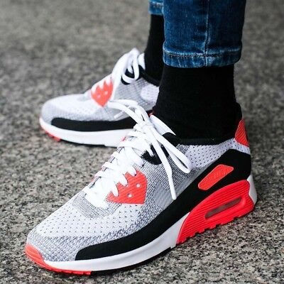 info for b6b0c 93973 Nike Air Max 90 Ultra 2.0 Flyknit  Infrared  UK 8 EUR 42.5 RARE!