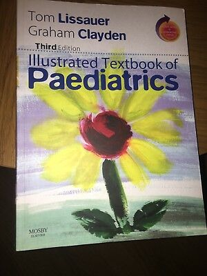 Illustrated Textbook Of Paediatrics By Tom Lissauer, Graham Clayden (Mixed Media • 7.50£