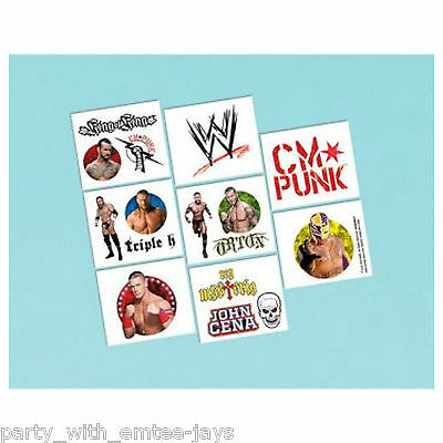 £2.98 • Buy WWE Tattoos - WWE Birthday Party Favours And Loot Ideas - Tattoos Boys Fun