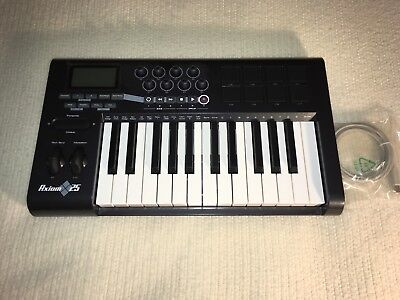 $175 • Buy M-Audio Axiom 25 2 Octave USB Midi Controller Electronic Keyboard (Used Mint)