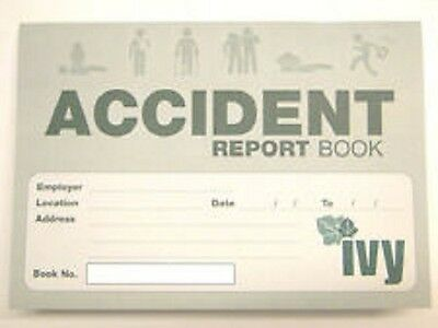 £2.99 • Buy Accident Report Book - First Aid Injury Record School Office