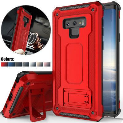 $ CDN10.71 • Buy For Samsung Galaxy Note 9 High Impact Rugged Shockproof Kick Stand Case Cover