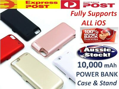 AU32.06 • Buy Battery External Power Bank Charger Case Charging Cover For IPhone 7 8 6 6s Plus