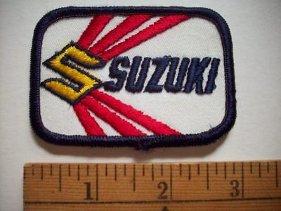 $7.99 • Buy SUZUKI MOTORCYCLE Embroidered Patch  *3a