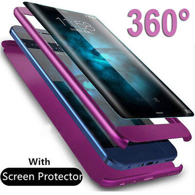 $ CDN2.84 • Buy 360 Full Protective Case For Samsung Galaxy Note 9 5/S6 S7 Edge S8 S9 Hard Cover